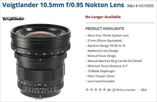 Voigtlander-10.5mm-f0.95-Nokton-lens-discontinued-2