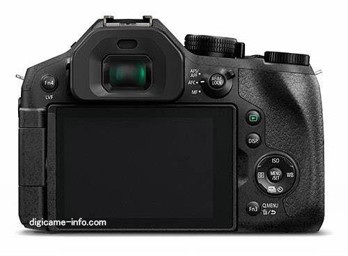 Panasonic DMC-FZ330 camera back