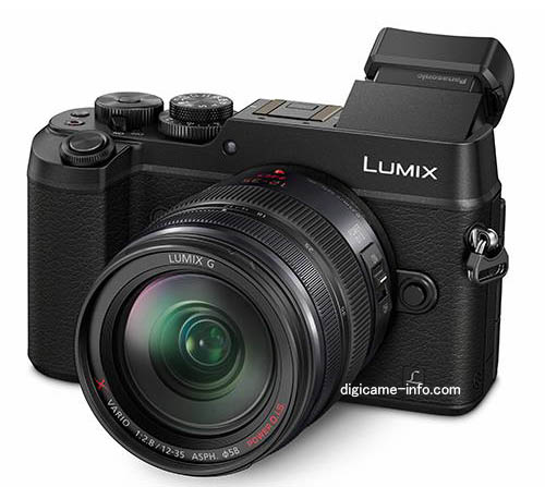 Panasonic DMC-GX8 MFT mirrorless camera