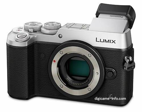Panasonic GX8 Micro Four Thirds mirrorless camera silver