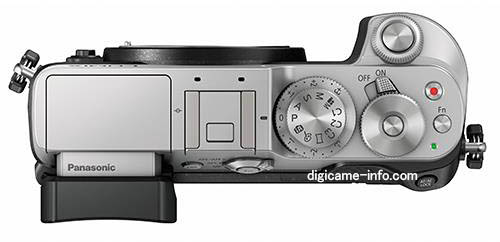Panasonic GX8 Micro Four Thirds mirrorless camera top