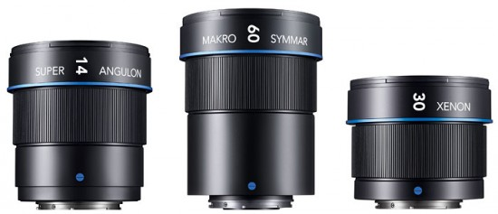 Schneider-Kreuznach Micro Four Thirds lenses