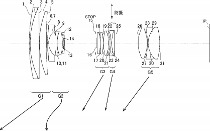 Tamron 13-200mm f:3.5-6.3 VC lens patent for APS-C cameras