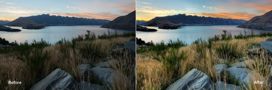 Topaz Adjust plugin before and after examples