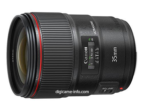 Canon EF 35mm f:1.4L II lens