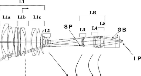 Canon10-120mm f:1.8 lens patent