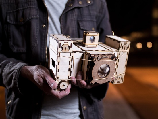 Focal Camera open-source modular analog camera building system