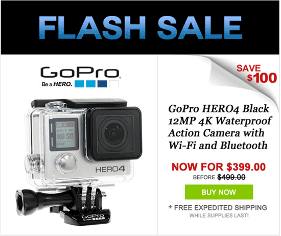 GoPro-HERO4-Black-edition-camera-now-$100-off