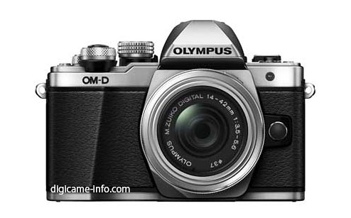 Olympus E-M10 Mark II camera silver
