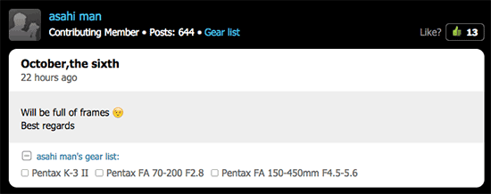 Pentax-full-frame-DSLR-camera-rumored-to-be-announced-on-October-6th