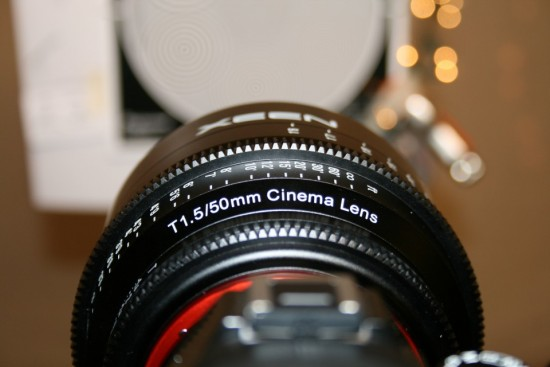 Rokinon XEEN cinema full frame lenses