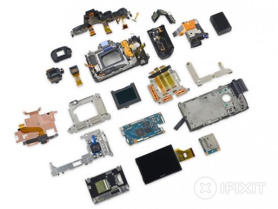 Sony a7R II camera teardown