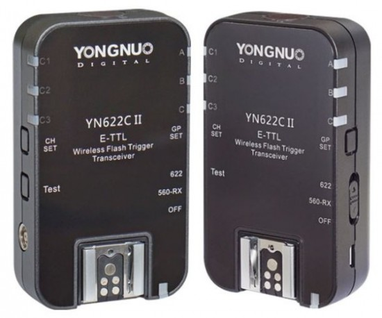 Yongnuo YN622C II wireless TTL flash trigger