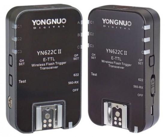 Yongnuo YN622C II wireless TTL flash trigger