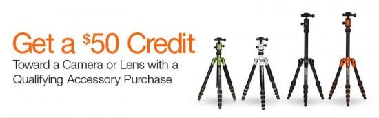 Amazon camera lens promo