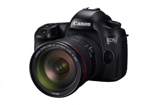 Canon 120MP SLR camera