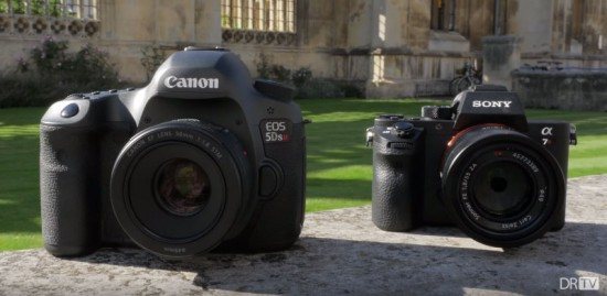 Canon-5Ds-R-vs-Sony-a7R-II-hands-on-video-review