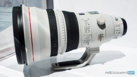 Canon EF 600mm f:4L IS DO BR USM lens prototype
