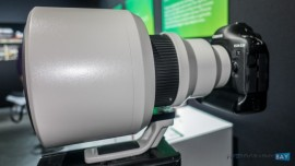 Canon EF 600mm f:4L IS DO BR USM lens prototype 3