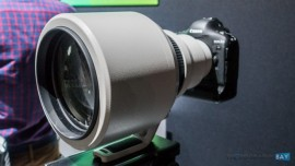 Canon EF 600mm f:4L IS DO BR USM lens prototype 4