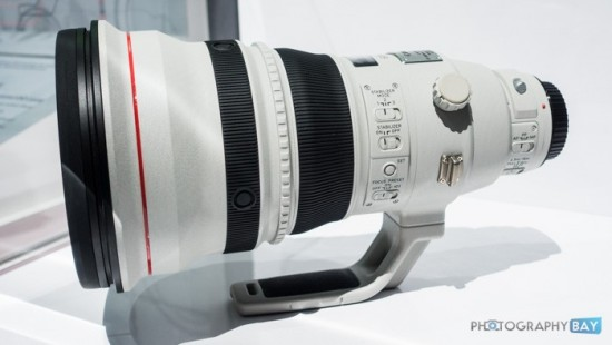 Canon EF 600mm f:4L IS DO BR USM lens prototype