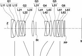 Fujifilm Zeiss 50mm f:2.8 Macro lens patent