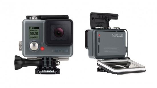 GoPro HERO+ camera with Wi-Fi