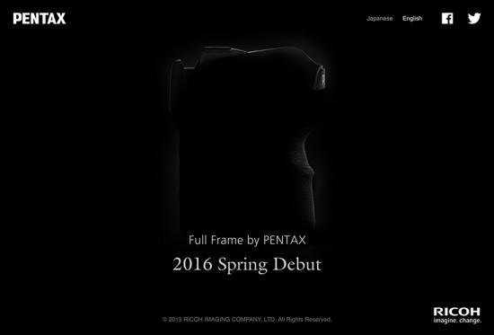 Pentax-full-frame-DSLR-camera-in-Spring-of-2016
