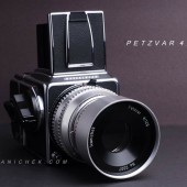 Petzvar 120mm f:4 lens for Hasselblad 500 cameras 4