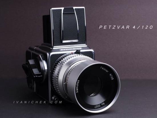 Petzvar 120mm f:4 lens for Hasselblad 500 cameras 4