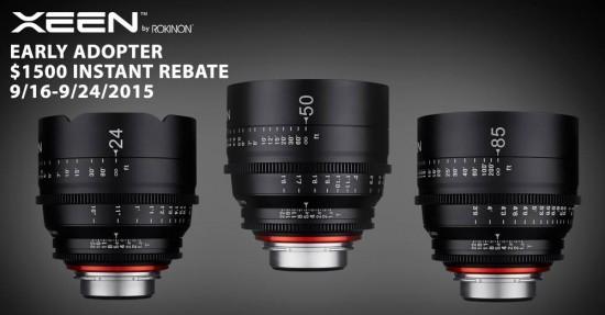 Rokinon XEEN cine lens discount