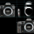Size of the Pentax full frame DSLR camera compared to the K-3