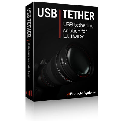 USB Tether for LUMIX