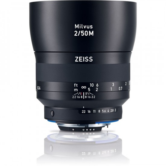 Zeiss Milvus 50mm f:2M ZF.2