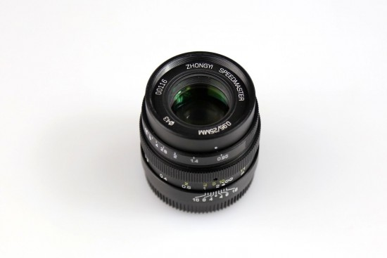 Zhongyi Mitakon Speedmaster 25mm f:0.95 lens for Micro Four Thirds cameras 3