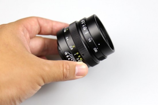 Zhongyi Mitakon Speedmaster 25mm f:0.95 lens for Micro Four Thirds cameras