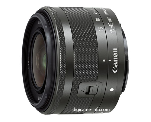 Canon EF-M 15-45mm IS STM and 55-200mm IS STM lens
