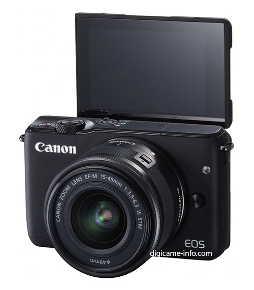 Canon EOS M10 mirrorless camera 1