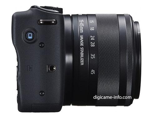 Canon EOS M10 mirrorless camera 4