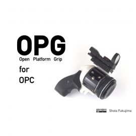 Gun grip for Olympus Open Platform Camera OPC 2