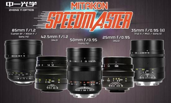 Mitakon-Speedmaster-lenses