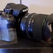 Pentax full frame DSLR camera