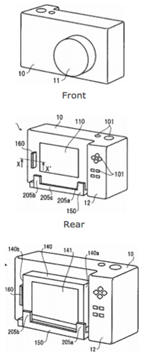 Ricoh-camera-with-smart-phone-dock-patent