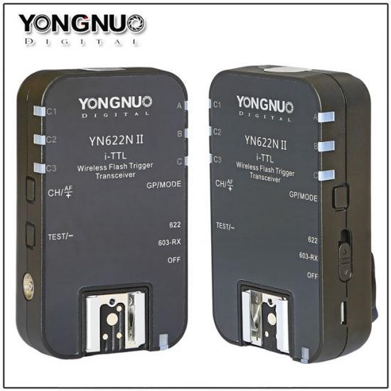 Yongnuo YN-622N II trigger for Nikon cameras