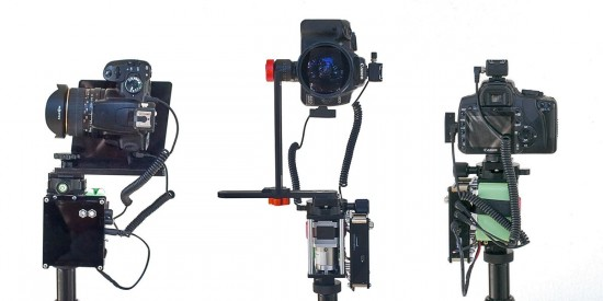 compact robotic photography platform for panoramas and timelapse