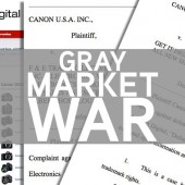 Canon is suing gray market camera sellers