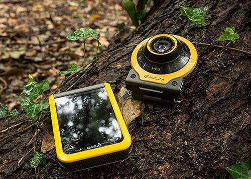 Casio EX-FR100 action camera
