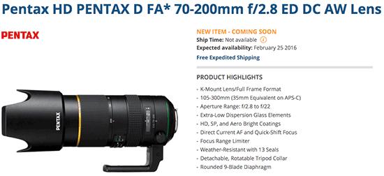 HD-Pentax-D-FA-70-200mm-f2.8ED-DC-AW-lens-delayed-again
