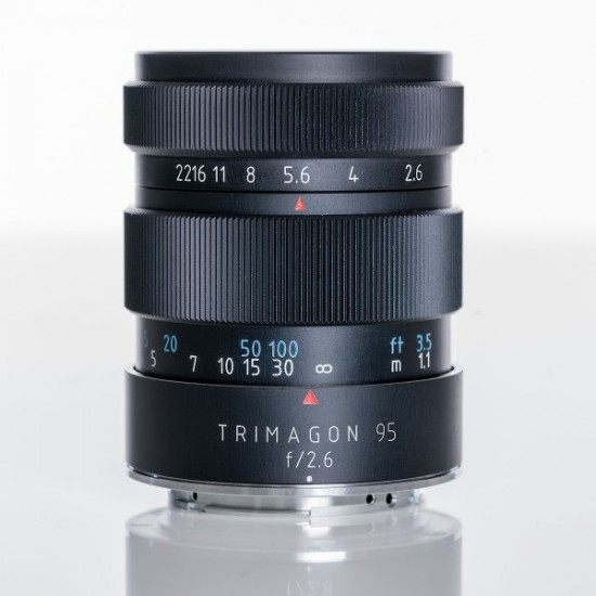 Meyer-Optik-Görlitz Trimagon 95mm ::1.6 lens