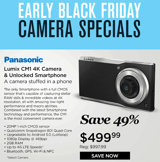 Panasonic-CM1-camera-phone-sale